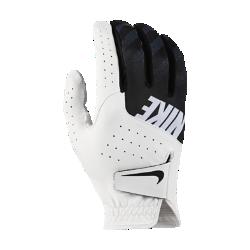Мужская перчатка для гольфа (на правую руку, стандартный размер) Nike SportМужская перчатка для гольфа Nike Sport с накладками из высококачественной кожи на ладони и перфорацией в области пальцев обеспечивает первоклассный комфорт и усиленную вентиляцию. Отводящая влагу конструкция не позволяет ладони скользить, обеспечивая комфорт при каждом свинге.<br>
