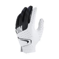 Детская перчатка для гольфа Nike Sport (на левую руку, стандартный размер)Детская перчатка для гольфа Nike Sport с накладками из высококачественной кожи на ладони и перфорацией в области пальцев обеспечивает первоклассный комфорт и усиленную вентиляцию. Отводящая влагу конструкция не позволяет ладони скользить, обеспечивая комфорт при каждом свинге.<br>