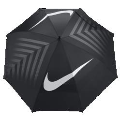 Зонт для гольфа Nike WindSheer Lite III 157,5 смЗонт для гольфа Nike WindSheer Lite III 157,5 см достаточно прочный, чтобы противостоять ветру, а его купол из легкого нейлона надежно защищает от дождя.<br>