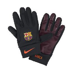 Перчатки FC Barcelona StadiumПерчатки FC Barcelona Stadium из удерживающего тепло флиса с символикой команды обеспечивают комфорт и защиту от холода в любой ситуации.<br>