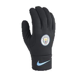 Перчатки Manchester City FC StadiumПерчатки Manchester City FC Stadium из удерживающего тепло флиса с символикой команды обеспечивают комфорт и защиту от холода в любой ситуации.<br>