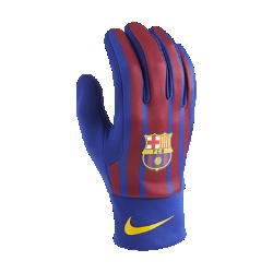 Перчатки FC Barcelona Stadium HomeПерчатки FC Barcelona Stadium Home из удерживающего тепло флиса с символикой команды обеспечивают комфорт и защиту от холода в любой ситуации.<br>