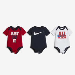 "Nike ""All Action"" Three-Piece Baby & Toddler Bodysuit Set"