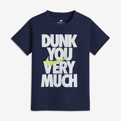 """Nike Dry """"Dunk You Very Much"""" Younger Kids' (Boys') T-Shirt"""