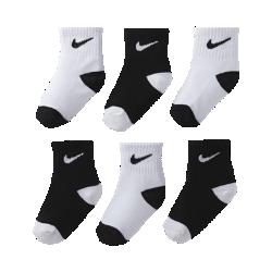 Nike Logo Baby & Toddler Socks (6 Pair)