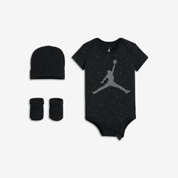 Jordan Speckle Three-Piece Baby Set