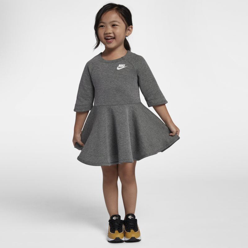 Nike Nike Tech Fleece Toddler Dress - Grey