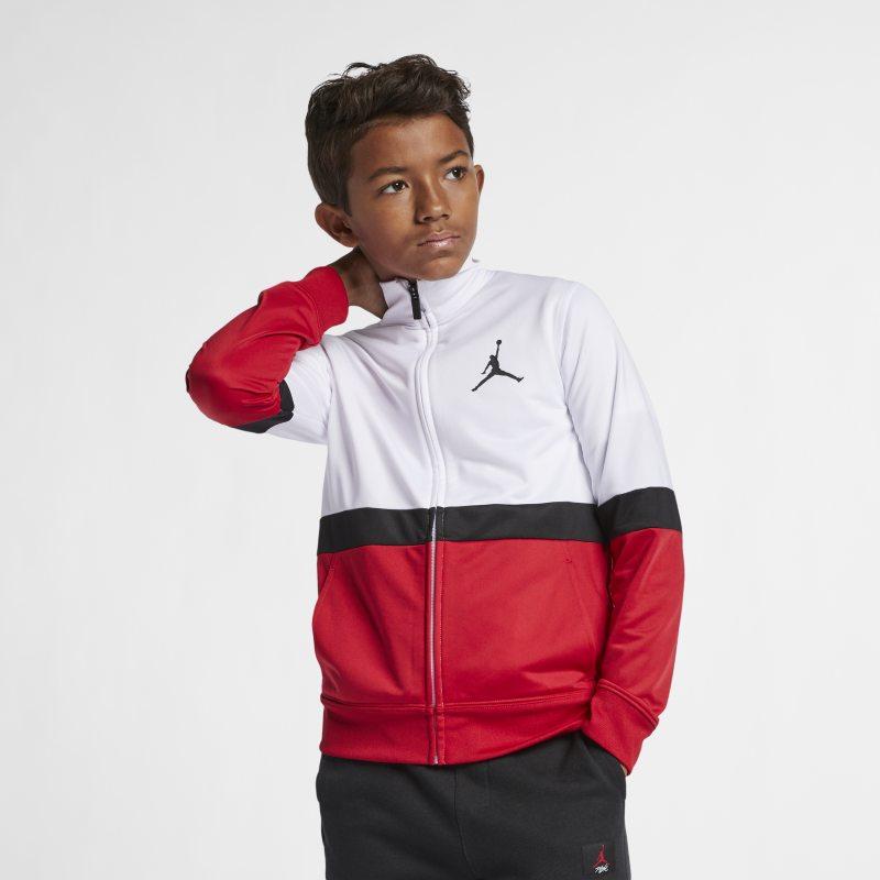 Jordan Sportswear Diamond Older Kids (Boys) Full-Zip Jacket - Red