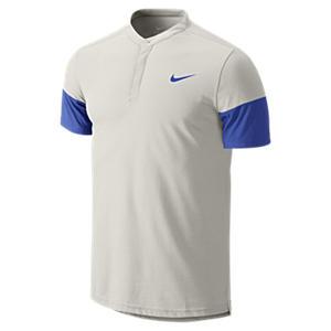 3984825e ShopandBox - Buy NIKE Dri-FIT Touch Solid Henley Mens Tennis Shirt ...