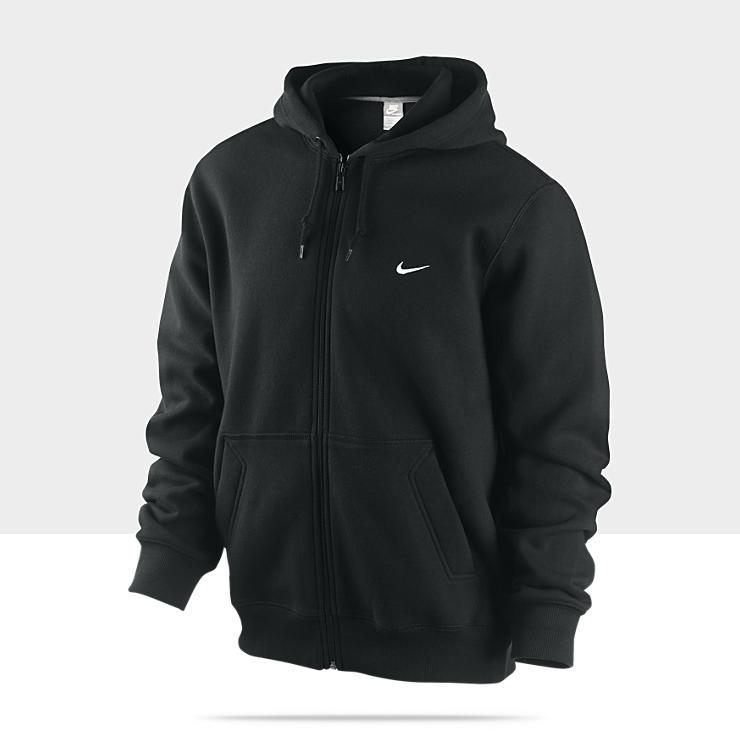 Nike Classic Fleece Full Zip Mens Hoodie 341573_010_A