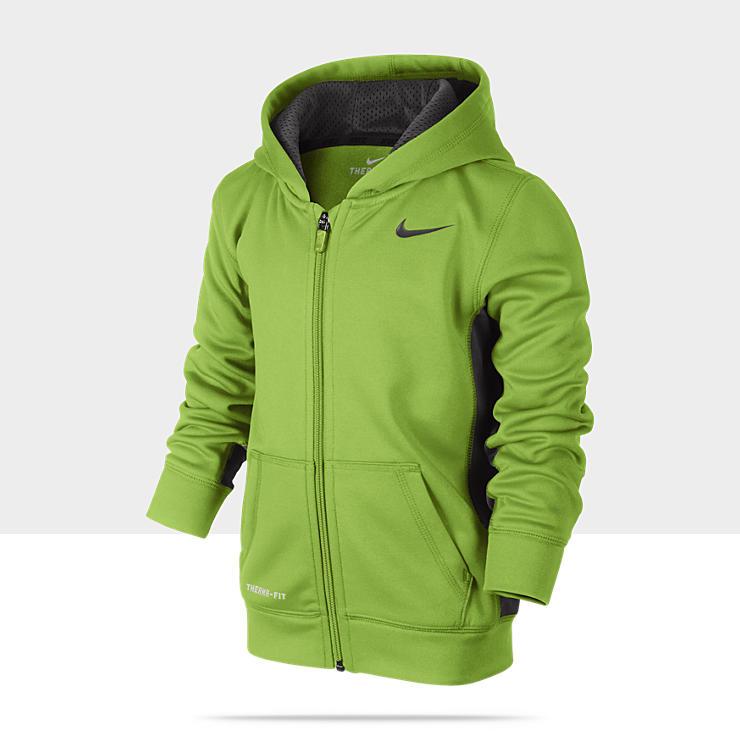 Nike KO Fleece Full Zip Pre School Boys Hoodie 869888_481_A