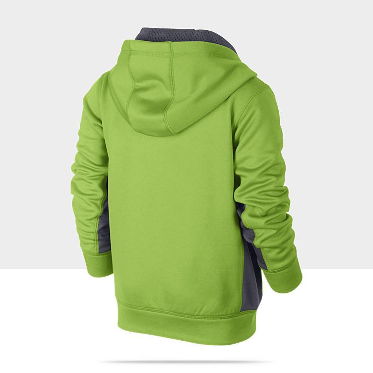 Nike KO Fleece Full Zip Pre School Boys Hoodie