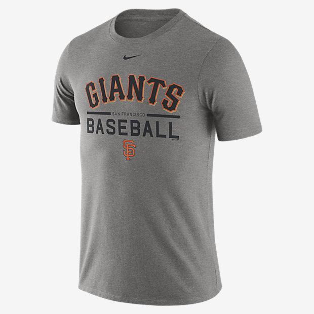 Low Resolution Nike Practice (MLB Giants) Men's T-Shirt