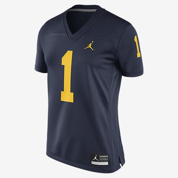 Jordan College Game (Michigan) Women's Football Jersey