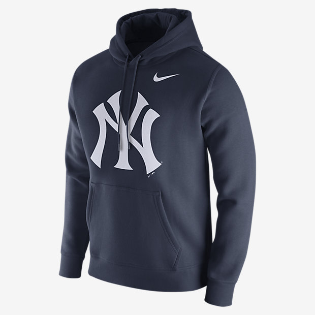 Nike Fleece Pullover (MLB Yankees) Men's Hoodie. Nike.com