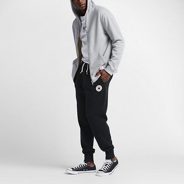 black converse joggers mens