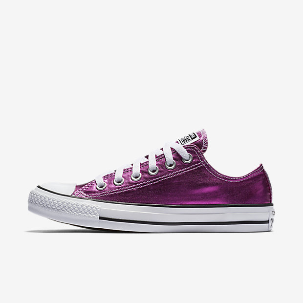 e9117af1ad The Converse Chuck Taylor All Star Metallic Low Top Women's Shoe ...