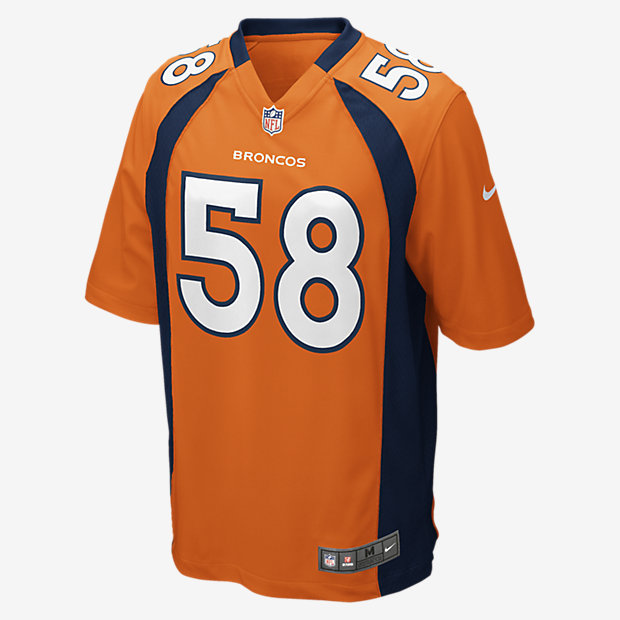 Low Resolution NFL Denver Broncos (Von Miller) Kids' Football Home Game Jersey