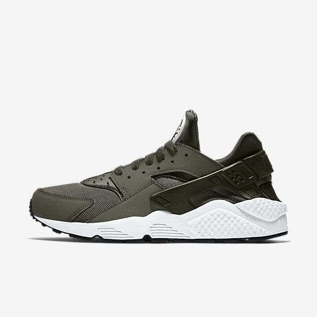 Nike Air Huarache Noir Blanc