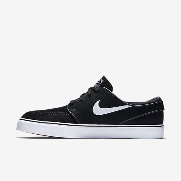 Nike SB Zoom Stefan Janoski Canvas Men's Skateboarding Shoes Black/Brown pV8736F