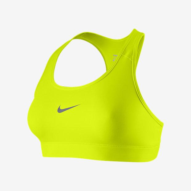Low Resolution Sport-BH med mediumstöd Nike Pro för kvinnor