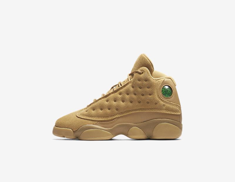 Nike Air Jordan 13 Retro Older Kids' Shoe - Gold Image