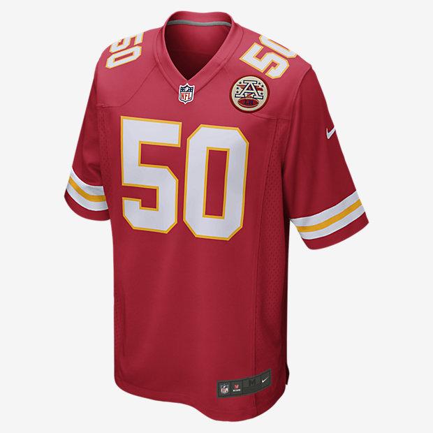 NFL Kansas City Chiefs (Justin Houston) Camiseta de fútbol americano de la  1ª equipación e21ea07d6e3