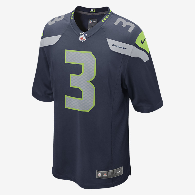 Image For Maillot NFL Seattle Seahawks (Russell Wilson)