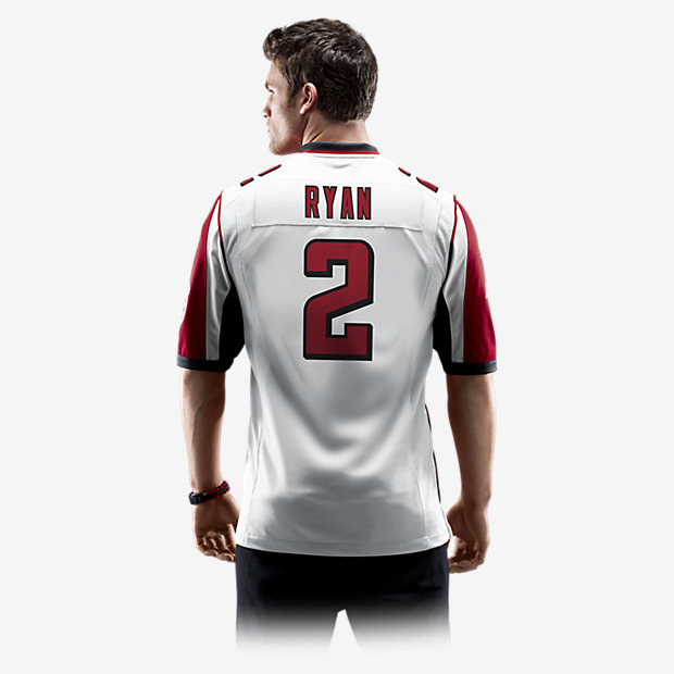 c44694c0a ... coupon for nfl atlanta falcons matt ryan mens football away game jersey.  nike 6c514 2fe88 ...