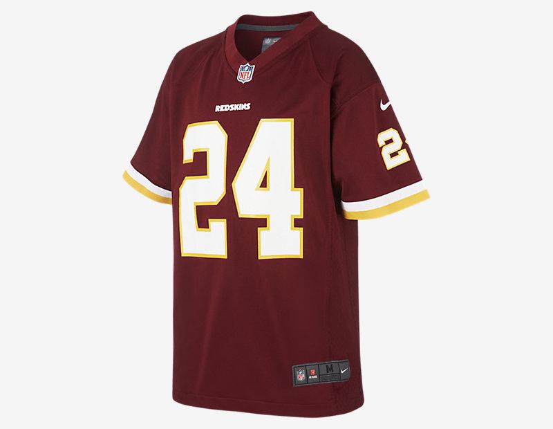 NFL Washington Redskins Game Jersey (Josh Norman)