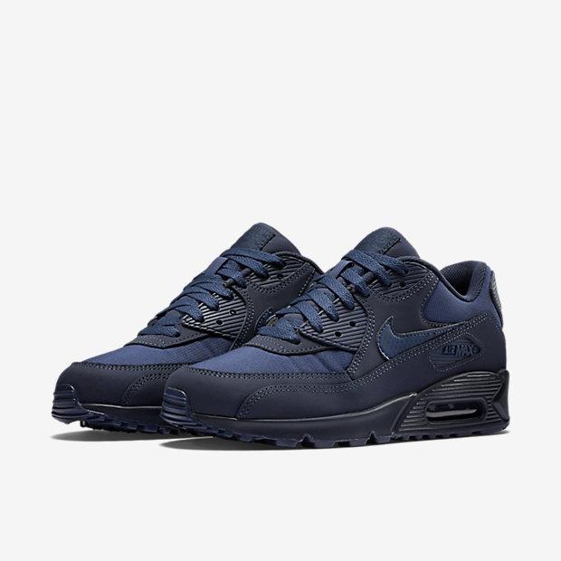 Chaussure Nike Air Max 90 Essential pour Homme en NoirNoirNoir