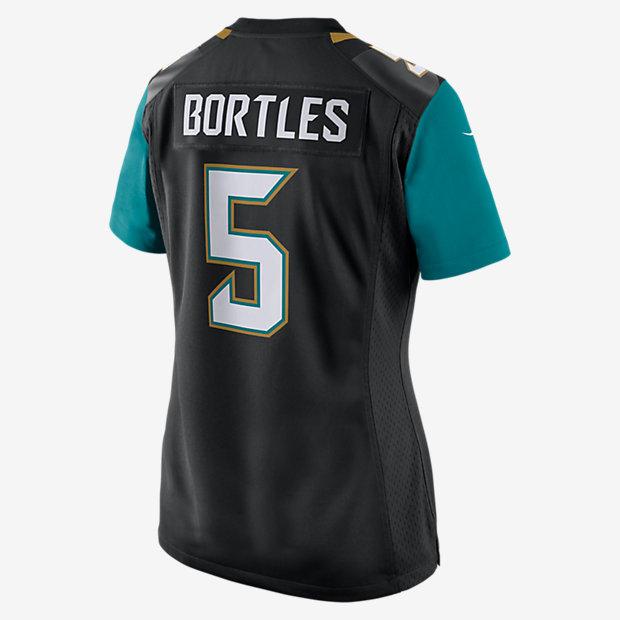 the best attitude 76dd2 37a13 NFL Jacksonville Jaguars (Blake Bortles) Women's American Football Home  Game Jersey