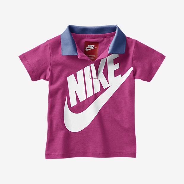 Low Resolution Nike Futura 男婴童翻领短袖童衫
