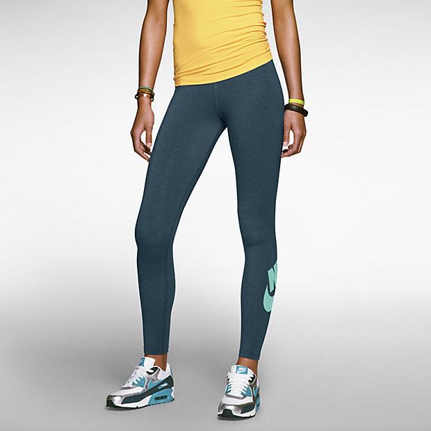 Low Resolution Nike Leg-A-See Logo 女子弹力长裤