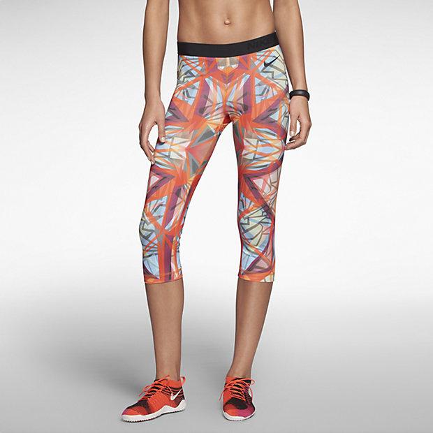 Low Resolution Nike Pro Core Kaleidoscope 女子七分裤