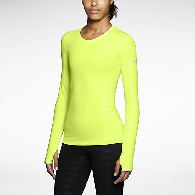 Low Resolution Nike Pro Hyperwarm Fitted Crew 3.0 女子运动衫