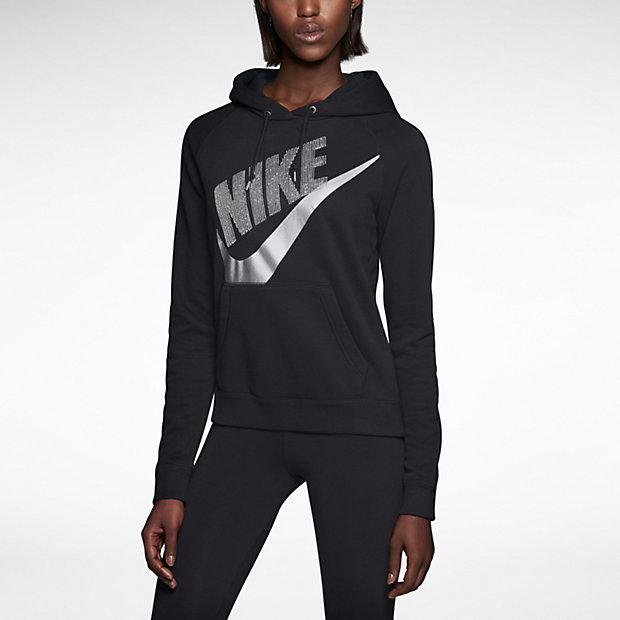 Low Resolution Nike Rally Sequin Pullover 女子连帽外套