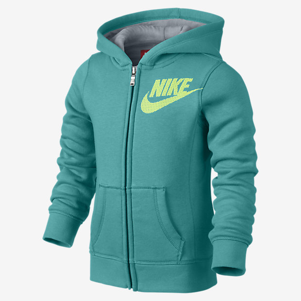 Nike Graphic Brushed-Fleece Full-Zip 幼童针织童茄克