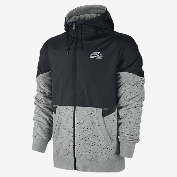 Low Resolution Nike AW77 Basketball Full-Zip 男子连帽针织茄克