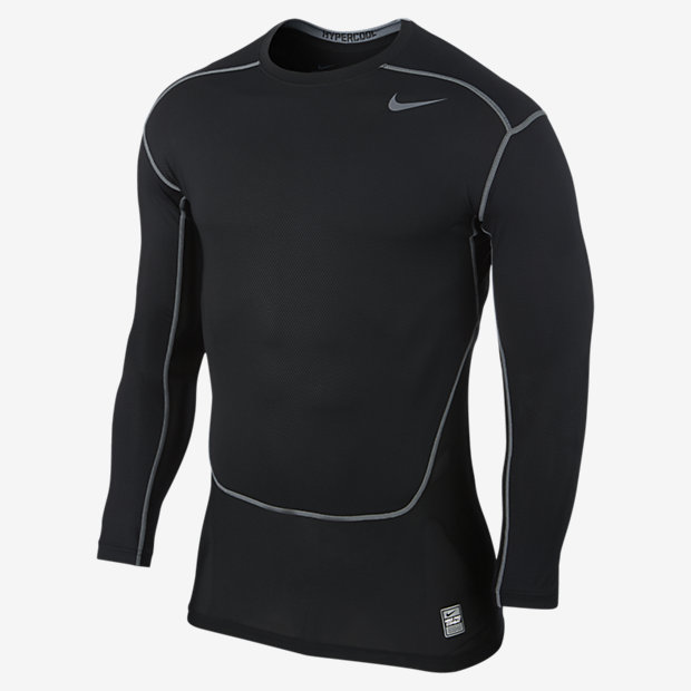 Low Resolution Nike Pro Combat Hypercool Long-Sleeve Compression 男子训练紧身衣
