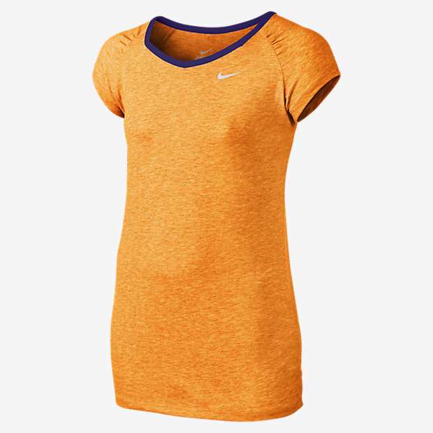 Low Resolution Nike Dri-FIT Cool Short-Sleeve 女孩训练童上衣