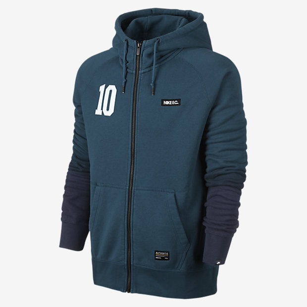 Low Resolution Nike F.C. AW77 Full-Zip 男子连帽针织茄克
