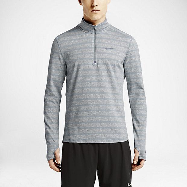 Low Resolution Nike Element Stripe Half-Zip 男子跑步上衣