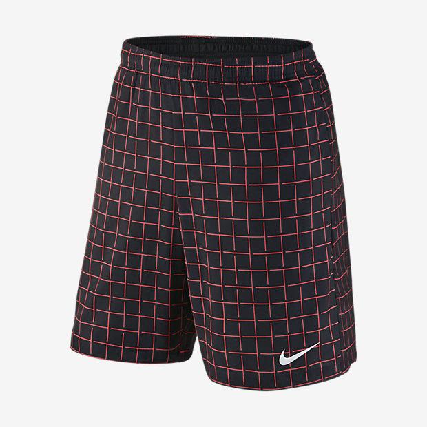 "Low Resolution Nike 9"" Court Plaid 男子网球短裤"