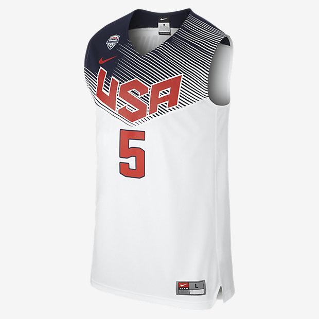 Low Resolution Nike Logo (USA) Replica 男子篮球服