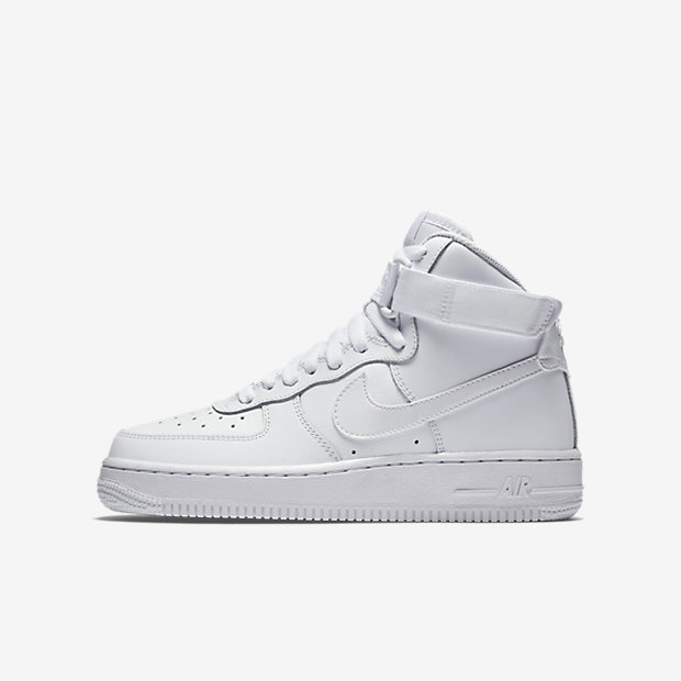 ... Nike Air Force 1 High (3.5y-7y) Big Kids' Shoe.