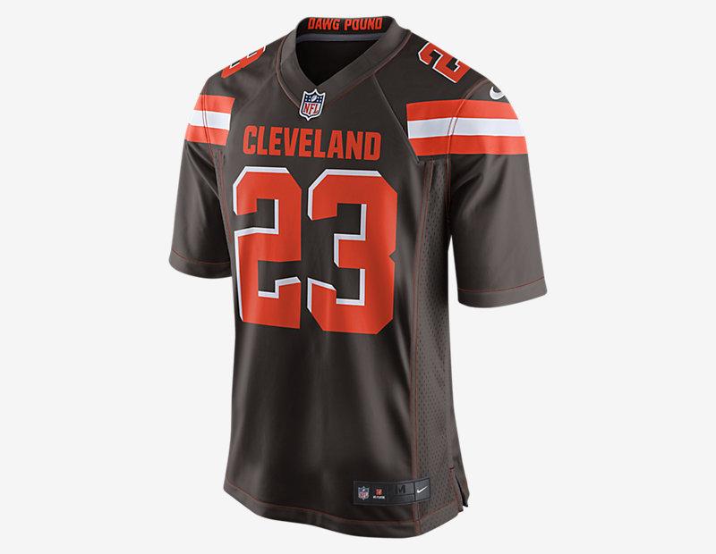 NFL Cleveland Browns Game Jersey (Joe Haden)