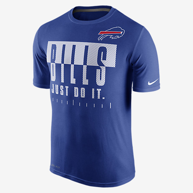 Nike legend just do it nfl bills t shirt heren be for Nike flyknit t shirt