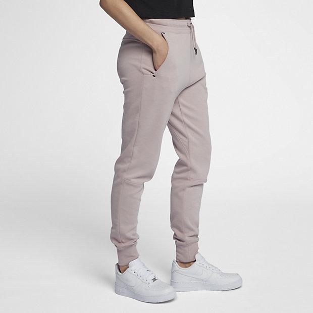pantalones nike mujer beige