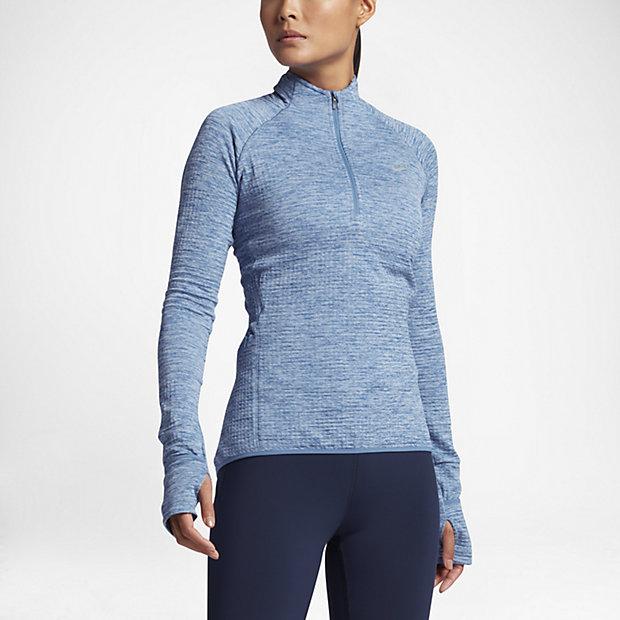Nike Therma-Sphere Element Women Long-Sleeve Running Half-Zip Top